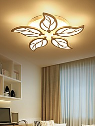 cheap -5-Light 55 cm Island Design Flush Mount Lights Acrylic Modern 110-120V 220-240V