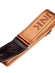 cheap -NAOMI Adjustable Guitar Strap Belt for Guitar & Electric Guitar & Bass Coffee Color