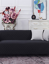 cheap -Sofa Cover Slipcover Sectional Couch Armchair Loveseat 4 Or 3 Seater Plain Solid Color Soft Durable