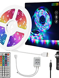 cheap -ZDM 10 Meters Waterproof Flexible LED Light Strips 180x5050 RGB SMD LEDs with IR 44 Key Controller or 12V Adapter Kit