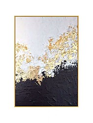 cheap -100% Hand Painted Big size Handmade knife abstract oil painting Gold Gray White gorgeous abstract Painting home Decor Oil Painting on Canvas Rolled Without Frame