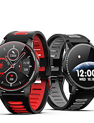 cheap -L6 IP68 Waterproof Smart Watch Fitness Tracker Heart Rate Monitor Smart Whatch Men Women Smartwatch For Android IOS