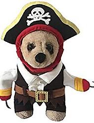 رخيصةأون -زي القراصنة الحيوانات الأليفة الكاريبي للكلاب الصغيرة& قطط