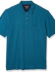 cheap -but& #39;s big and tall short sleeve solid deck polo shirt, blue coral, tall/large tall