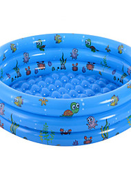 cheap -Kiddie Baby Pool Swimming Pool Mixed Material Summer Swimmer Daily Wear Pool 1 pcs Unisex Kid's Adults