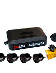 cheap -A41 Car Auto Vehicle Reverse Backup Radar System with 4 Parking Sensors Distance Detection  Sound Warning buzzing