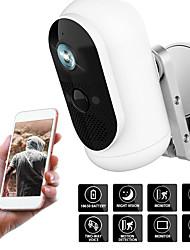 cheap -100% Wire-free Outdoor IP Camera 1080p HD Battery WiFi Wireless Surveillance Camera Home Security Waterproof PIR Low Power