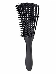 cheap -detangling brush for natural hair-detangler for afro america 3a to 4c kinky wavy, curly, coily hair, detangle easily with wet/dry, apply conditioner/oil - 1 pack (black)