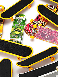 cheap -12 pcs Finger skateboards Mini fingerboards Finger Toys Plastic Office Desk Toys Cool Matte Surface Kid's Teen Unisex Party Favors  for Kid's Gifts