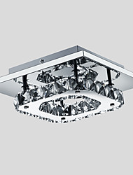 "cheap -1-Light 21(8"") LED Flush Mount Lights Metal Electroplated Modern Contemporary 90-240V"