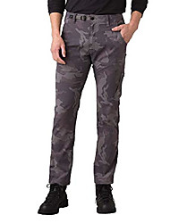 """cheap -- men& #39;s stretch zion lightweight, durable, water repellent pants for hiking and everyday wear, straight, 34"""" inseam, gravel camo, 36"""