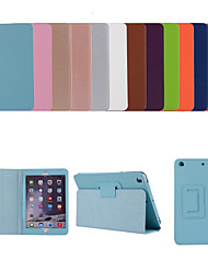 cheap -Case For Apple iPad Air iPad Air 2 Ipad air3 10.5 2019 2 3 4 ipad pro 10.5inch  10.2inch with Stand Flip Full Body Cases Solid Colored PU Leather TPU Protective Stand Cover