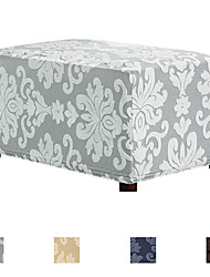 cheap -Futon Cover Floral Embroidery / Flocking Polyester Slipcovers