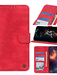 cheap -Case For Motorola Moto G8 G8 Power G8 Power Lite G Stylus E7 G Power E6S 2020 Edge Card Holder Flip Full Body Cases Solid Colored PU Leather