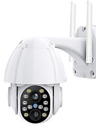 cheap -3MP FHD PTZ Wifi Video Surveillance Camera Outdoor IP66 Waterproof Security IP Camera Color IR Security CCTV Monitor