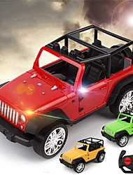 cheap -Construction Truck Toys Remote Control Car SUV Jeep Wireless Control Simulation Plastic Mini Car Vehicles Toys for Party Favor or Kids Birthday Gift Random Color / Kid's