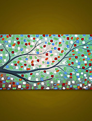cheap -Unframed Modern Wall Art Large Oil Painting Abstract Tree Hand Painted On Canvas Picture Unique Gift For Living Room Decoration Rolled Without Frame