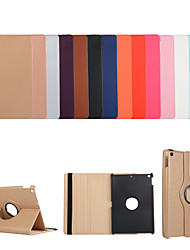 cheap -Case For Apple iPad Air iPad Air 2 Ipad air3 10.5 2019 2 3 4 ipad pro 10.5inch  10.2inch with Stand Flip Full Body Cases Solid Colored PU Leather TPU 360 Degree Rotating Protective Stand Cover