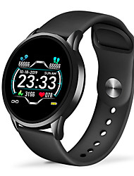 cheap -JSBP W0072 Bluetooth Fitness Tracker Support Notify/ Heart Rate Monitor Stainless Steel Sport Smartwatch for Samsung/ Iphone/ Android Phones