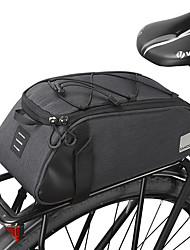 cheap -7 L Bike Rack Bag Portable Dust Proof Wearable Bike Bag Leather 300D Polyester Bicycle Bag Cycle Bag Outdoor Exercise