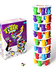 cheap -1 pcs Stacking Game Educational Toy Plastic Professional Novelty Balance Kid's Adults' Boys' Girls' Toys Gifts