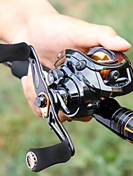 cheap -Fishing Reel Baitcasting Reel 7.0/1 Gear Ratio+18 Ball Bearings Right-handed / Left-handed Freshwater Fishing / Carbon Fiber