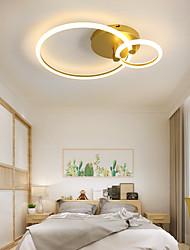 cheap -LED® 2-Light 48 cm Geometric Shapes Flush Mount Lights Aluminum Painted Finishes LED Modern 110-120V 220-240V