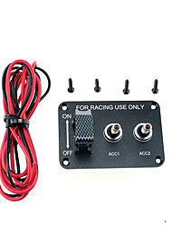 cheap -racing car modified 12V model  with LED 3 switch PANLE