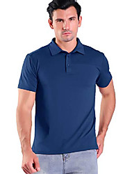 cheap -but& #39;s golf polo shirt quick-dry breathable short sleeve solid regular-fit blue m