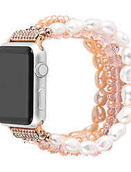 cheap -Smart Watch Band for Apple iWatch 1 pcs Jewelry Design Ceramic Replacement  Wrist Strap for Apple Watch Series 7 / SE / 6/5/4/3/2/1 42/44/45mm 38/40/41mm