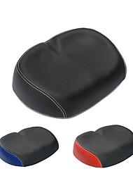 cheap -Bike Seat, Wide Large Bicycle Saddle, Ergonomic Universal Replacement Bike Seat Comfortable Bicycle Saddle Pads Waterproof Shock