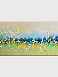 cheap -Oil Painting Hand Painted Horizontal Landscape Modern Stretched Canvas