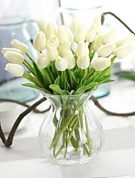 cheap -PU Modern Style Bouquet Tabletop Flower Bouquet 10PCS 32cm
