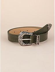 cheap -Women's Work Waist Belt - Solid Colored