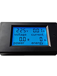 cheap -Peacefair AC Single Phase Digital LCD Ammeter Voltmeter 80-260V 20A 4IN1 Electric Volt Amp Megter Power Kwh For Homekit PZEM-021