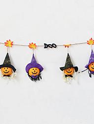 cheap -Halloween Party Toys Halloween Banner 2 pcs Pumpkin Cartoon Foam Kid's Adults Trick or Treat Halloween Party Favors Supplies
