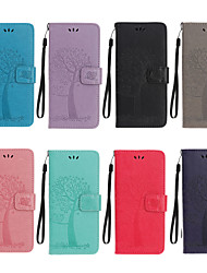 cheap -Phone Case For Google Pixel 4A Pattern Magnetic Full Body Cases leather