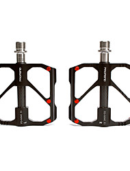 cheap -Bike Pedals Cycling Wearproof Durable Aluminum Alloy Titanium for Cycling Bicycle Mountain Bike MTB Black