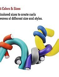 "cheap -wendyhair sponge curler roller set long hair curler roller set 10pcs magic curler rod length 9.5"" diameter2.2cm color"