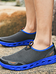 cheap -Unisex Loafers & Slip-Ons Sporty / Casual Daily Outdoor Water Shoes / Upstream Shoes Mesh / Synthetics Breathable Wear Proof Dark Grey / Black / Red / Black Summer / Fall