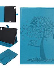 cheap -Case For Apple iPad Pro 11 2020 iPad 10.2 2019 iPad Pro 10.5 iPad Pro 9.7 iPad Air3 10.5 2019 Card Holder with Stand Pattern Full Body Cases Animal Tree PU Leather