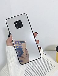 cheap -Case For Huawei P30 P30Pro Mate 10 Mate 10P Mate 20 Mate 20P Mate 30 Mate 30P Honor 8X Honor 9X Mirror Back Cover Solid Colored PC