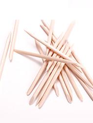 cheap -Manicure Tools Orange Stick Wooden Sign Dead Skin Push Double-Headed Orange Stick 100 Bags Of Drill Sticks