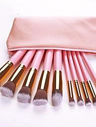 cheap -Professional Makeup Brushes 10pcs Professional Soft Full Coverage Comfy Wooden / Bamboo for Blush Brush Foundation Brush Makeup Brush Eyeshadow Brush