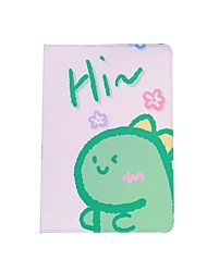 cheap -Case For Apple iPad  Mini 3 2 1 iPad Mini 4 iPad Mini 5 with Stand Flip Full Body Cases PU Leather TPU Protective Stand Cover Pattern  cute lovely ice cream dinosaur peach girl avocado