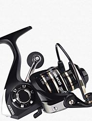 cheap -Fishing Reel Spinning Reel 5.2:1 Gear Ratio Ball Bearings Hand Orientation Exchangable Sea Fishing / Freshwater Fishing