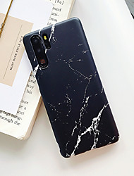 cheap -Case For Huawei P20 P20 Pro P20 Lite Nova 3e Nova 3i Mate 20 Mate 20 Lite Mate 20 Pro P30 P30 Pro P30 Lite Nova 4e Frosted Pattern Back Cover Marble TPU