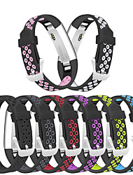 cheap -High Quality Soft Silicone Secure Adjustable Band for Fitbit Alta HR Band Wristband Strap Bracelet Watch Replacement Accessories