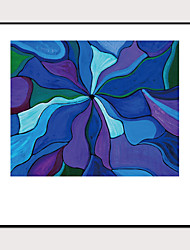cheap -Framed Art Print Abstract Hand-Painted Abstract Wall Art Modern Home Decoration Ready To Hang