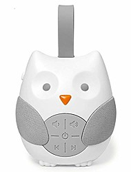 cheap -white noise machine soothers sound record voice sensor with 12 soothing sound auto-off timer, white